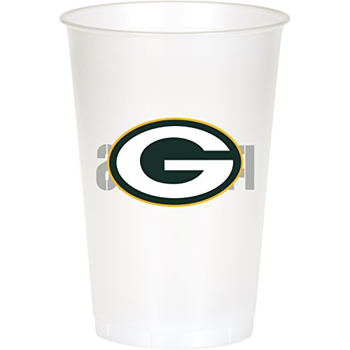 Green Bay Packers Plastic Cups, 24