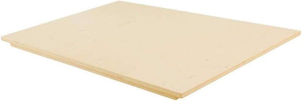 Vetrineinrete/® Spianatoia in Legno per impastare stendere Tavola Multistrato con Bordo Antiscivolo Tagliere Pasta Pizza Cucina Varie Misure 9038 P44 60x80cm