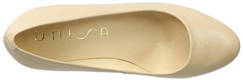 Unisa Numis_17, Zapatos de Tacón para Mujer Beige (Tawny)