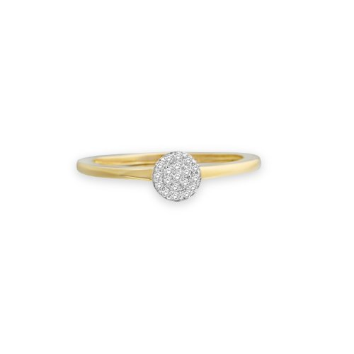 Miore - MP9072R - Bague Femme Or Bicolore 375/1000 (9 carats) 1.2 gr - Diamant