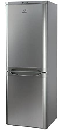 Indesit NCAA 55 NX Independiente 217L A+ Acero inoxidable nevera y congelador - Frigorífico (206 L, SN-T, 43 dB, 3 kg/24h, A+, Acero inoxidable)