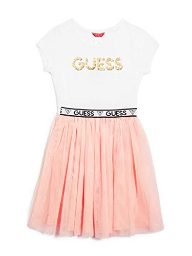 GUESS Factory Kids Girl's Quincy Logo Two-Fer Dress (7-16)