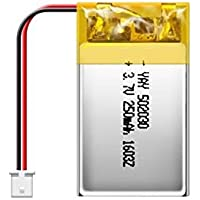 Rechargeable battery lithium ion Replacement Lipo Battery 3.7V 250Mah Lipo Battery for RC Quadcopter Camera Rechargeable Battery For Drone RC Quadcopter Mini Camera