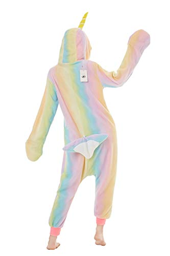 XVOVX Adults and Children Animal Narwhal Unicorn Cosplay Costume Pajamas Onesies Sleepwear