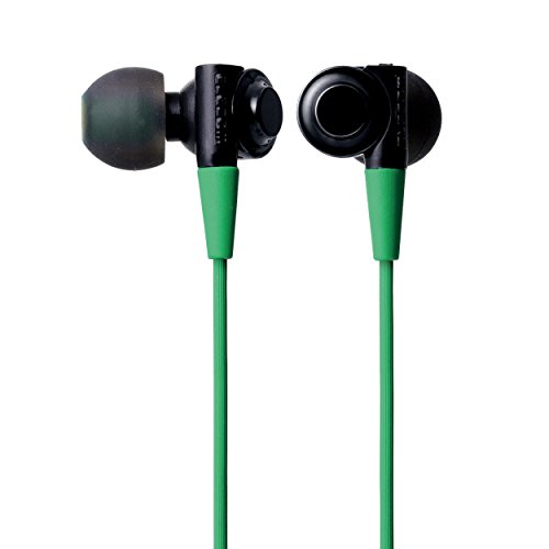 Canal Stereo (ELECOM Stereo Earphoness Canal Type CB100 Green EHP-CB100AGN)