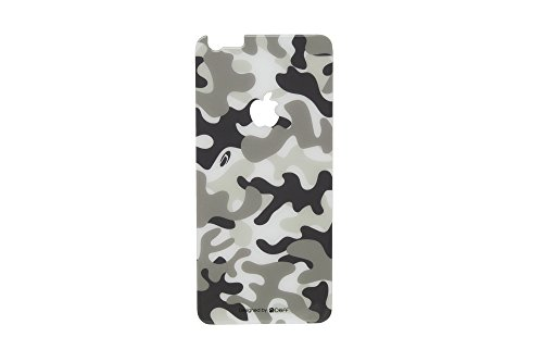 Deff Chemically Toughened Wild Design Type Back Side Glass Screen Protector for iPhone 6 Plus (Camouflage / Snow)
