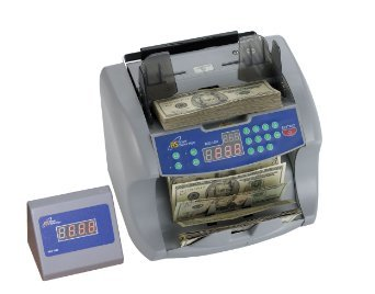 Royal Sovereign Front Loading Cash Counter with Dual Counterfeit Protection (RBC-1003) by Royal Sovereign