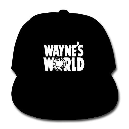 Junminlu Children Wayne's World Leisure Hats Black