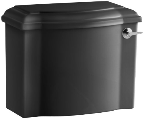 Kohler  K4438RABK Devonshire 1.28 GPF Toilet Tank  Right Hand, Black by Kohler