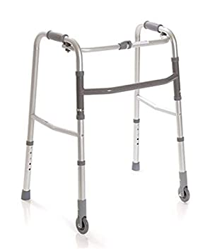 Andador Caminador Plegable para Ancianos, regulable en ...