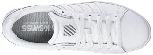 K Blanc Winston Homme 154 white white Basses white swiss Court Sneakers qw1FY6xrTq