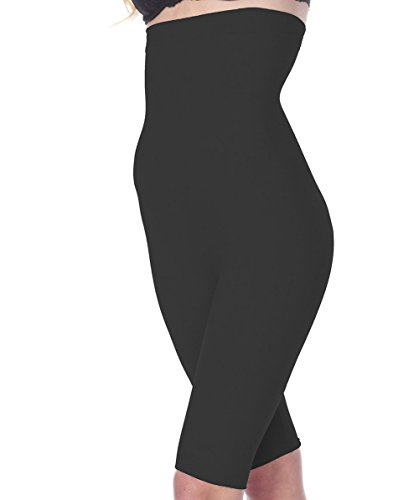 Body Shaping Support (La Reve Tummy Control Shapewear for Women - High Waist Thigh Slimmer Body Shaper, Black, XX-Large)