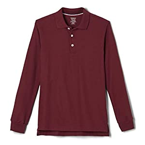 French Toast Boys' Long-Sleeve Pique Polo Shirt