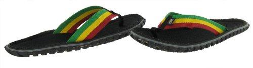 Size Flops Bob 11 Mens Rasta Fresco Print Marley Sandals Flip BRqZa1UR