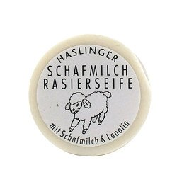 Shaving Milk - Haslinger Schafmilch Shaving Soap with Sheep Milk and Lanolin
