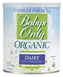 Baby's Only Organic Dairy Toddler Formula,12.7 oz. - Item #: CO22900M