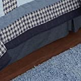 Dino Dave Blue Twin Bed Skirt