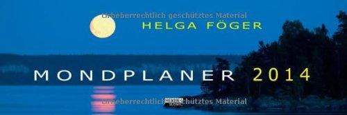 Mondplaner 2014 Tischkalender: Tischplaner