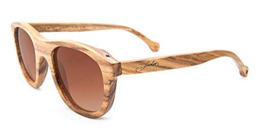 NFC de sol Mallorca con APP Collection tecnología Marrón Eyewear gratuita madera y Balearic de Fuster's Gafas gU8xf8