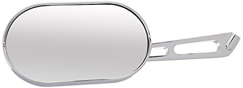 Kuryakyn 1409 Motorcycle Handlebar Accessory: Magnum Plus Large Head Rear View Side Mirror with Convex Glass for 2004-19 Harley-Davidson Motorcycles, Chrome, Pack of 1
