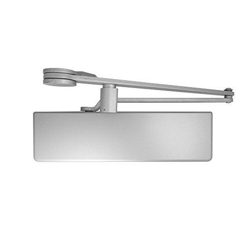 Dexter Commercial Hardware DCH1000-STD-FULL-DS/HO-ALUM, Heavy Duty Dead stop Hold, Open arm Surface Door Closers with Full cover, 689/ALUM, Aluminum by Dexter Commercial Hardware