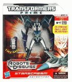 Transformers Prime Robots in Disguise Voyager Class Series 1 - Starscream (Starscream Toy Figure)