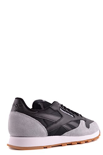 Reebok Herren MCBI253020O Schwarz Leder Sneakers