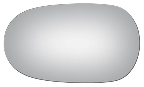 2003-2008 JAGUAR S-TYPE Flat Driver Side Mirror Replacement Glass by Burco