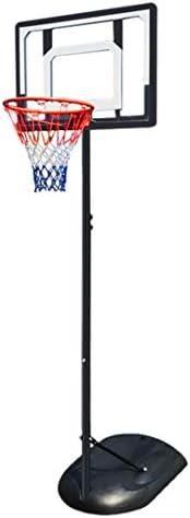大人の子供用バスケットボールラック、屋外バスケットボールラック、取り外し可能(1.6〜2.2 mリフト)、教育玩具/ギフトとして独自のバスケット