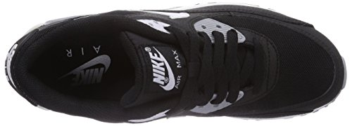 90 white Air Black Wmns Essential Nike Max Grey wolf Sportive Donna Scarpe qtzw4Fg4R