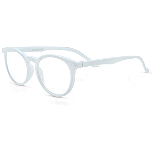 In Style Eyes Flexible Readers, Super Comfortable Lightweight Reading Glasses/White +1.00 White Reading Glasses