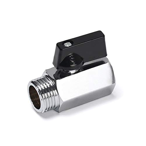 Beduan Chrome Plated Brass Mini Ball Valve (1/2