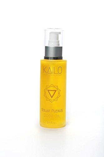 Kailo Organic Chakra Therapy - Solar Plexus Chakra Body Oil (aromatherapy + energy work)