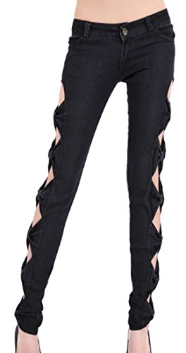 Bow Jeans Pants - 6