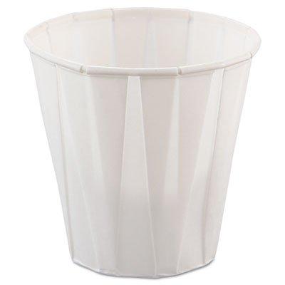 Paper Medical & Dental Treated Cups, 3.5oz, White, 100/bag, 50 Bags/carton