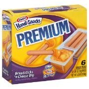 KRAFT HANDI SNACKS PREMIUM BREAD STICKS & CHEESE DIP 6 CT by Kraft -
