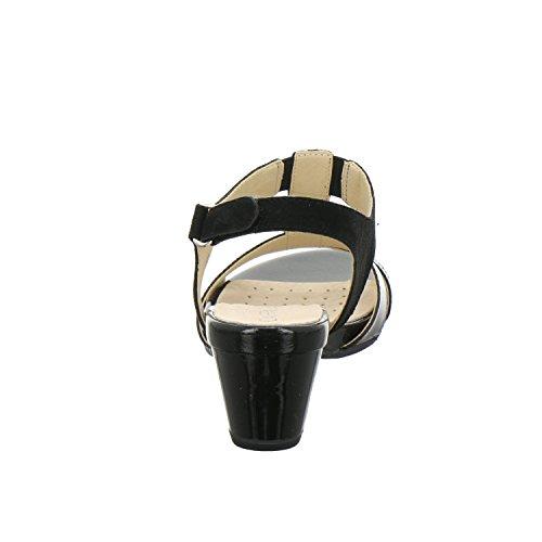 Donne Caprice 28604 Sandali Slingback Neri