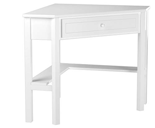 This Classically Styled Desk utilizes a Small Space for a Bi