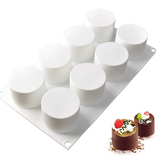 Silicone Mousse Cake Molds for Baking Brownie Chocolate
