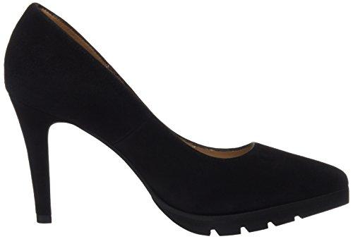 Femme avec Marian Noir Fermé Calzados Chaussures à Talon Bout Black 3300negro 7nqUA8