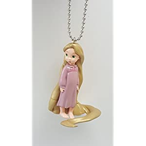 """31Of0a3pNFL. SS300 Disney Tangled Baby Toddler Rapunzel PVC Key Chain Keychain Dangler Action Figure 2"""" Figurine"""