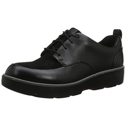 chollos oferta descuentos barato Clarks Un Balsa Lace Zapatos de Cordones Derby para Mujer Negro Black Combi Black Combi 35 5 EU