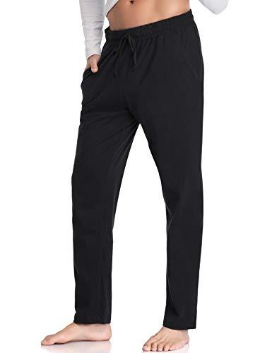 Long Stripe Hawiton Femme Taille Haute 100 Pantalon Fitness Homme Décontracté Sport Noir D'entraînement Coton Jogging A De x4OTC