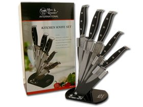 HEN & ROOSTER AND International 5 Piece Composite ABS Kitchen Knife Knives Set