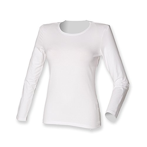 Skinni Fit - Camiseta - para mujer blanco