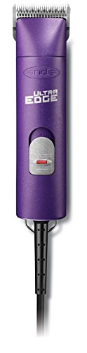 Andis UltraEdge AGC Super 2-Speed Detachable Blade Clipper, Professional Animal Grooming, Purple, AGC2 (24080) by Andis