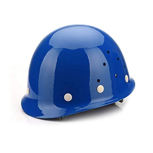 Safety Helmet Work Helmet, Protective Construction Helmet, Very Lightweight Construction Helmet GUOF Construction Worker Helmet with Ventilation a (Color : A)