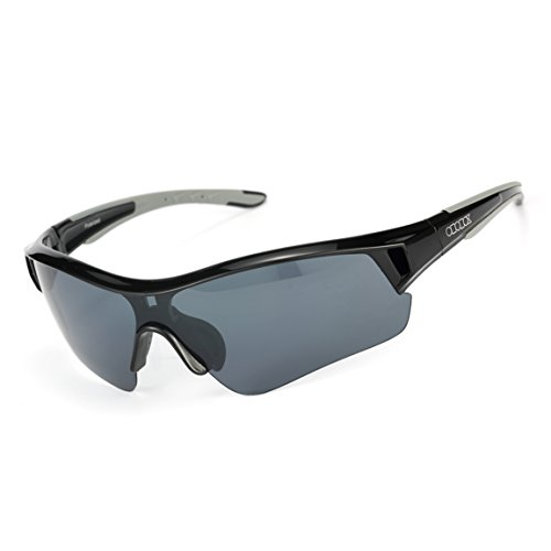 ODODOS Polarized Sunglasses for Cycling Driving Baseball Running Fishing UV100 Polarized - Best Sunglasses Cricket