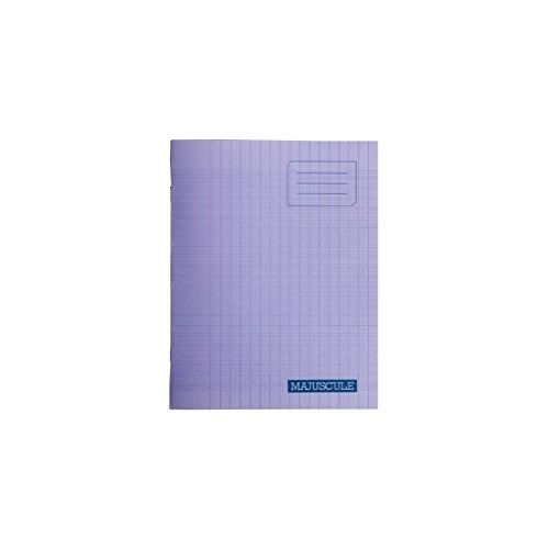 Conquérant 47516 Cahier Classique Piqûre Couverture Polypropylène Rigide Transparente A5+ Papier Violet