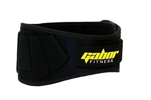 Gabor Fitness Contoured Neoprene Back Support Weight Lifting